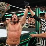 WWE: Indiscrezioni sulla difesa del titolo di AJ Styles a Money in the Bank
