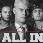 INDIES: Christopher Daniels e altre Superstars della ROH prenderanno parte ad All In
