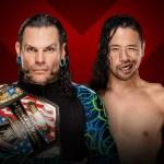 WWE: 5 possibili finali per Jeff Hardy vs Shinsuke Nakamura