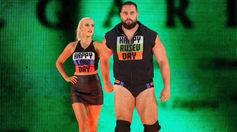 WWE: Miro difende sua moglie Lana