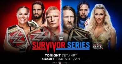 Report: WWE Survivor Series 2018
