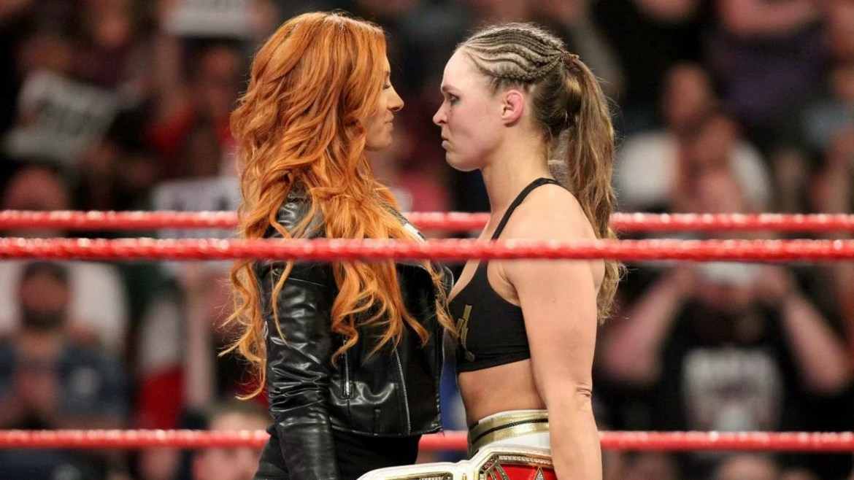WWE: Ronda Rousey torna a prendere in giro Becky Lynch