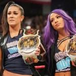 WWE: Molte Superstars sfidano Bayley e Sasha Banks per WrestleMania