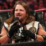 WWE: Dettagli sull'infortunio di AJ Styles