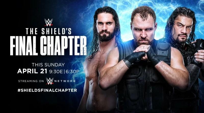WWE: Contro chi combatterà lo Shield il suo ultimo match?