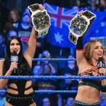 WWE SPOILER SMACKDOWN: Aggiornamenti sullo status dei Women's Tag Team Championship