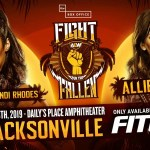 AEW: Brandi Rhodes commenta il suo match contro Allie a Fight For The Fallen