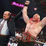 WWE SPOILER RAW: Chi sarà l'avversario di Brock Lesnar a Summerslam?