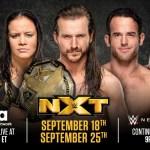 WWE: Grandi cambiamenti per le prime due puntate di NXT su USA Network