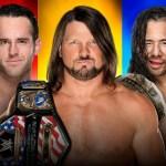 WWE SPOILER: AJ Styles e Shinsuke Nakamura commentano il loro match