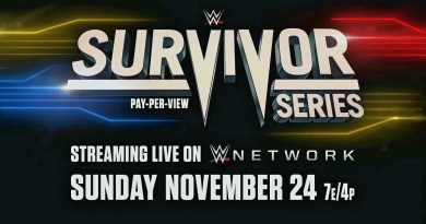 WWE: Cancellato un importante match per Survivor Series