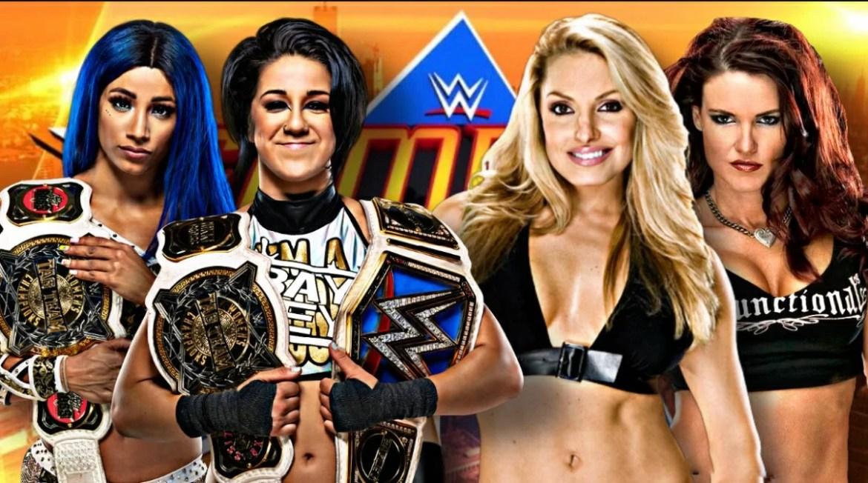 WWE: Bayley sfida Trish Stratus e Lita a SummerSlam