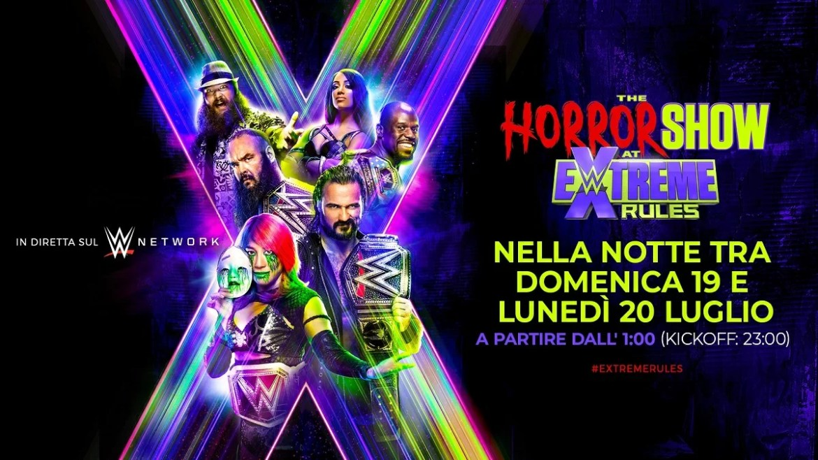 WWE: Risultati The Horror Show a Extreme Rules 2020