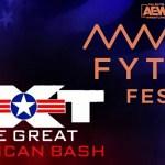 WWE & AEW: Ascolti NXT The Great American Bash & Fyter Fest (prima serata)