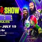 WWE: Card aggiornata di The Horror Show a Extreme Rules 2020 (18-07-2020)