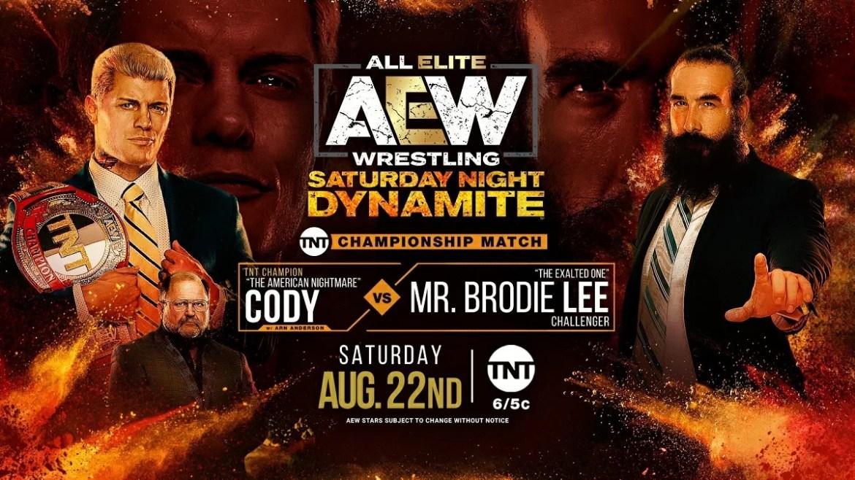 AEW: Risultati AEW Dynamite 22-08-2020