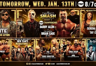 AEW: Risultati Dynamite New Year's Smash (Night 2)