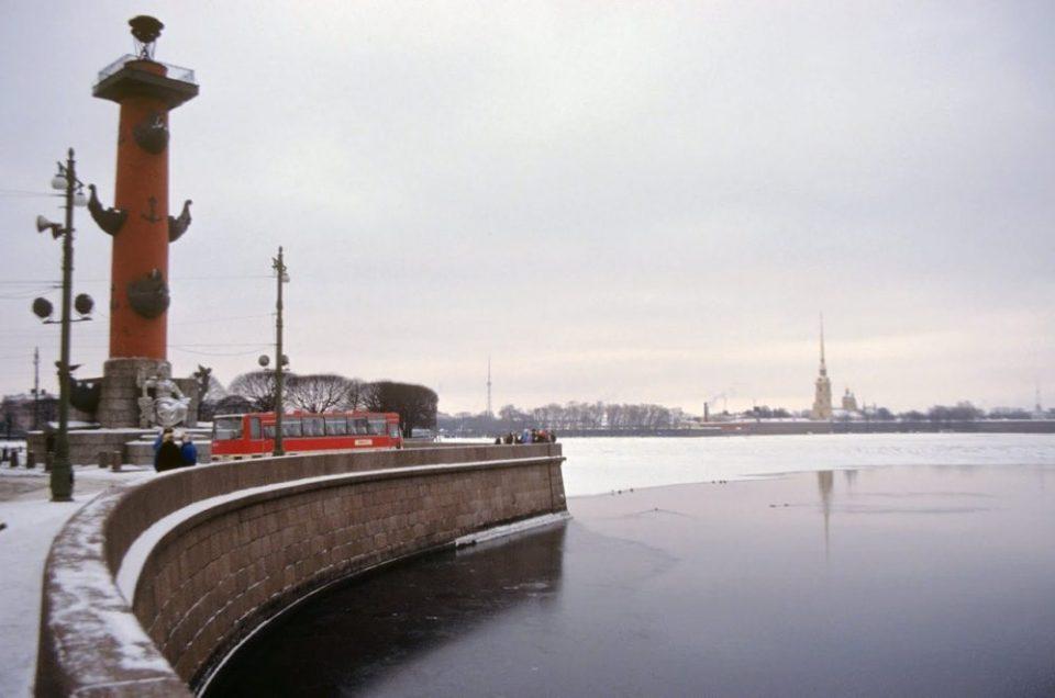 Ностальгия по СССР: Бен Густафсон в зимнем Ленинграде (1 часть)