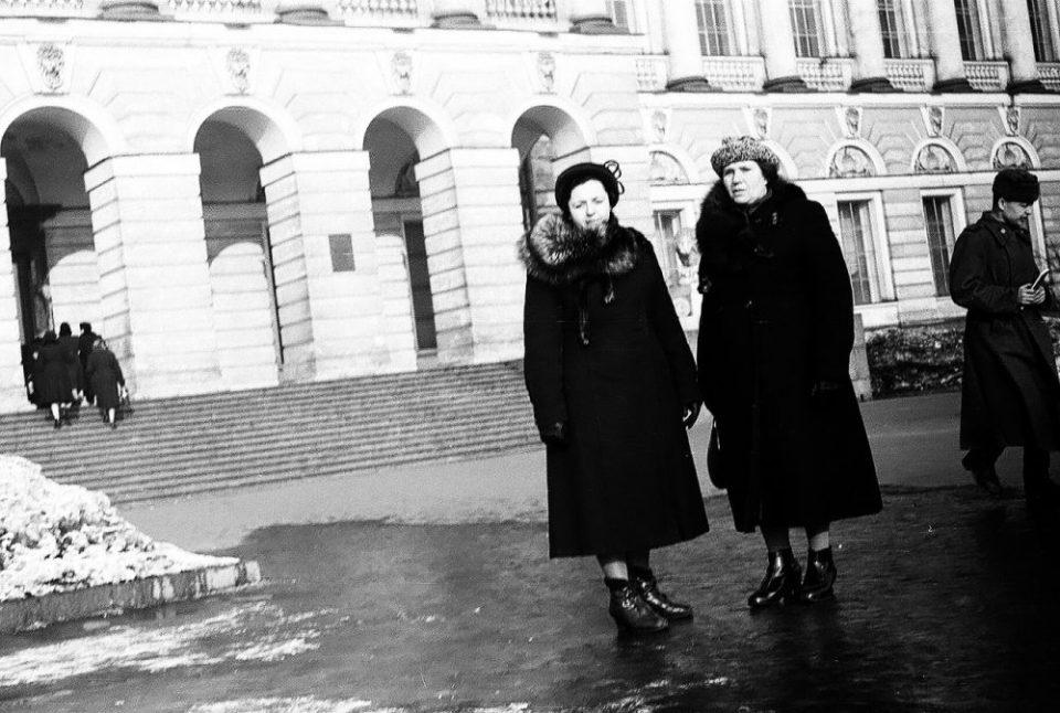 Редкие рето-фотографии: Ленинград в 57-м на снимках Л.А. Кудельского \ 1957г.