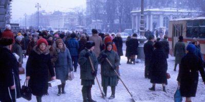 Аттракционы в Ленинграде в 1976-1977. Майкл Нойберт в Ленинграде. Часть 7