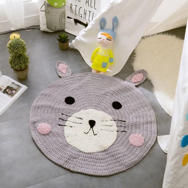 Bear Woven Floor Mat