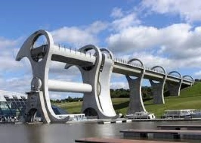 Civil Engineering Modern Falkirk Boat Wheel