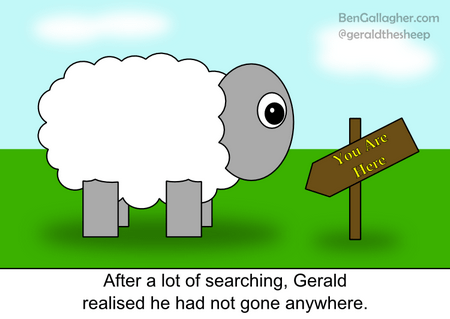 Gerald the Sheep - Lost and Found