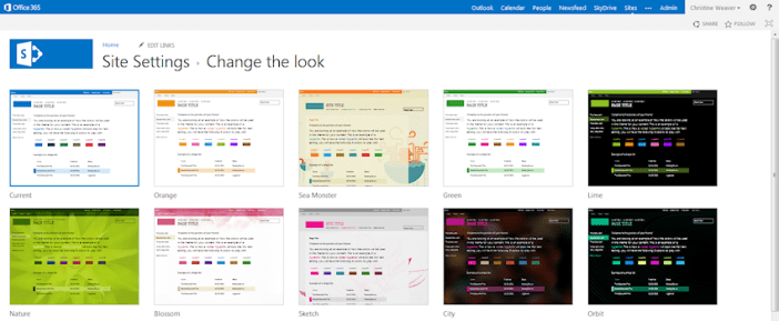 How to enhance the SharePoint theme   SharePoint Interests