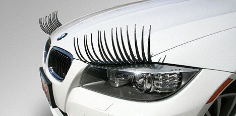 BMW Eyelashes