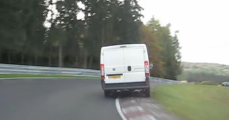 White Van Ringmeister - image : carthrottle.com