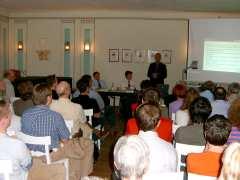 Kein Platz blieb leer beim Stadtumbau-Forum der SPD-Fraktion