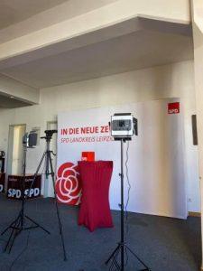 Setup digitale Aufstellungskonferenz