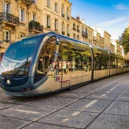 bordeaux, france, tram