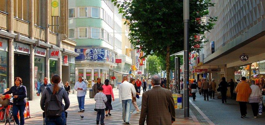 Verkehr in den Fußgängerzonen