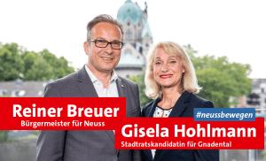 Reiner Breuer und Gisela Hohlmann