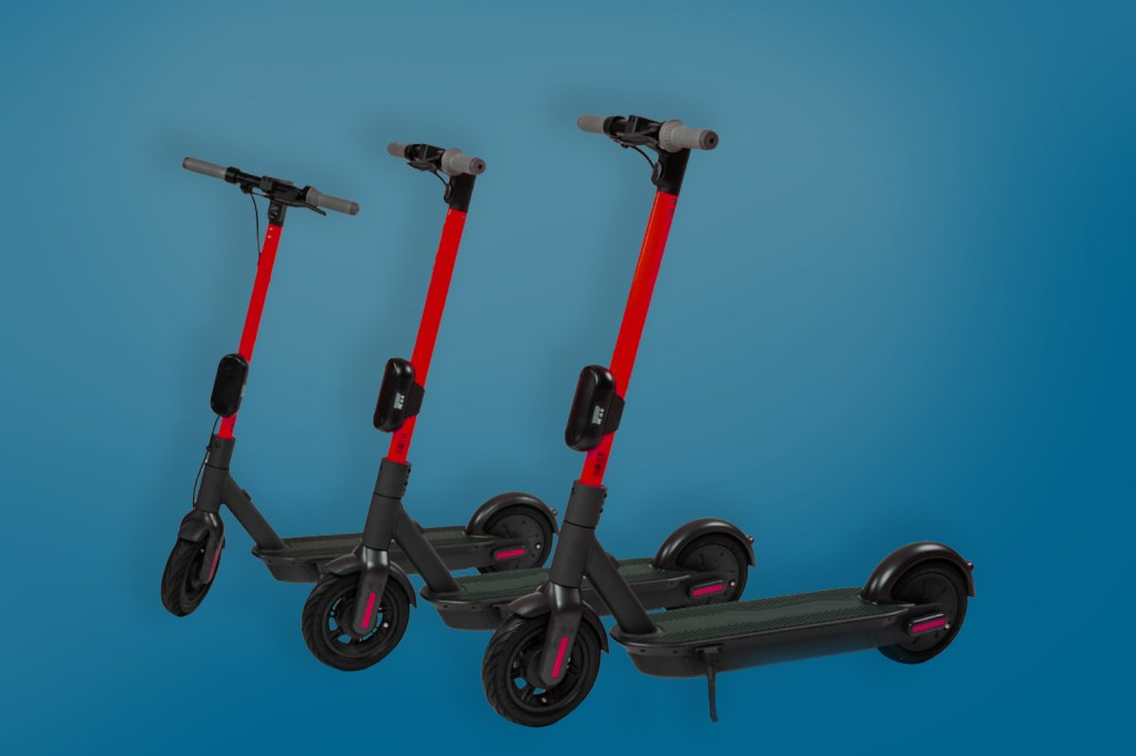 E-Scooter Testphase in Neuss