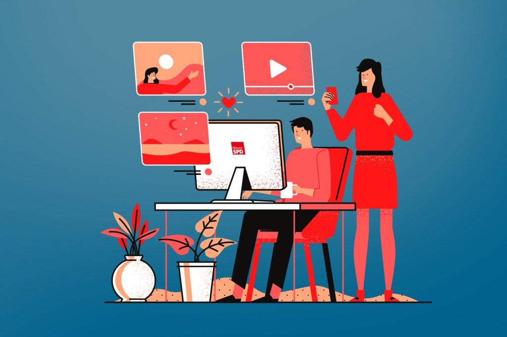 Stellenausschreibung Social Media