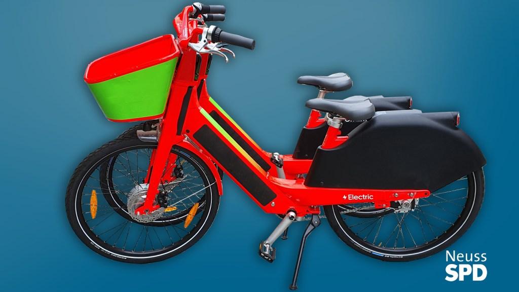 Das neues E-Bike-Angebot in der Stadt Neuss ist ein weiterer Baustein für die Mobilitätswende.