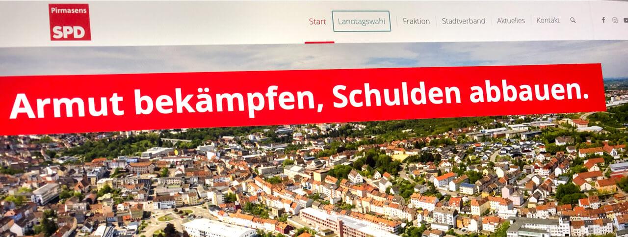 Neue Website der SPD Pirmasens