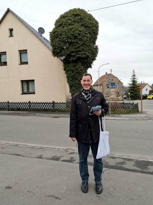 Alexander Fuhr vor Ort