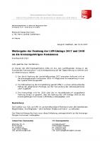 Weitergabe der Senkung der LVR-Umlage 2017 und 2018 an die kreisangehörigen Kommunen