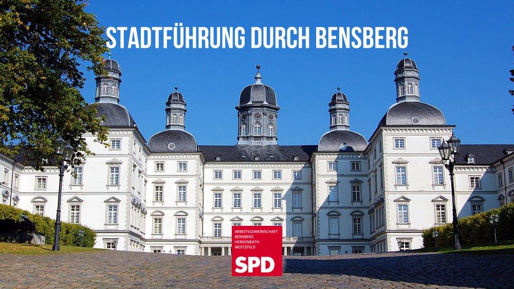 Einladung zur Stadtführung durch Bensberg