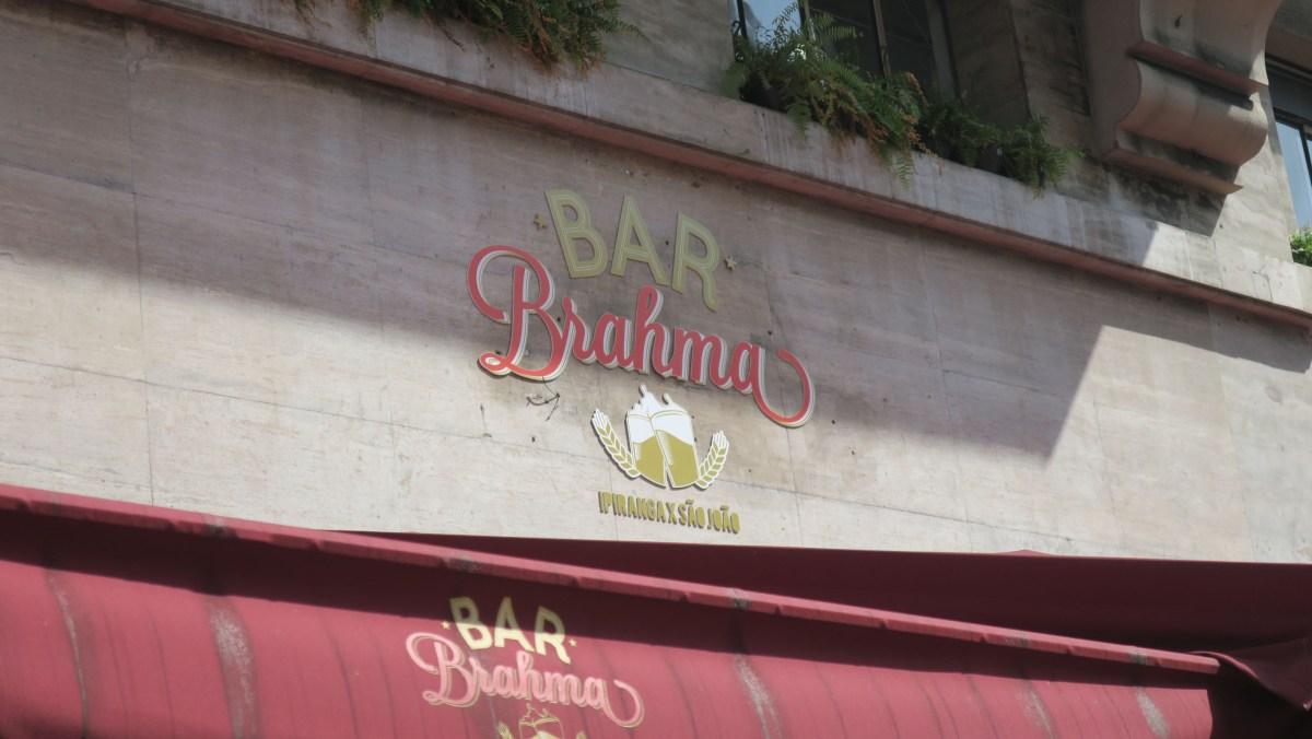 ESPECIAL #vemprocentro: Bar Brahma que já se chamou Bar Kaiser e você não sabia!