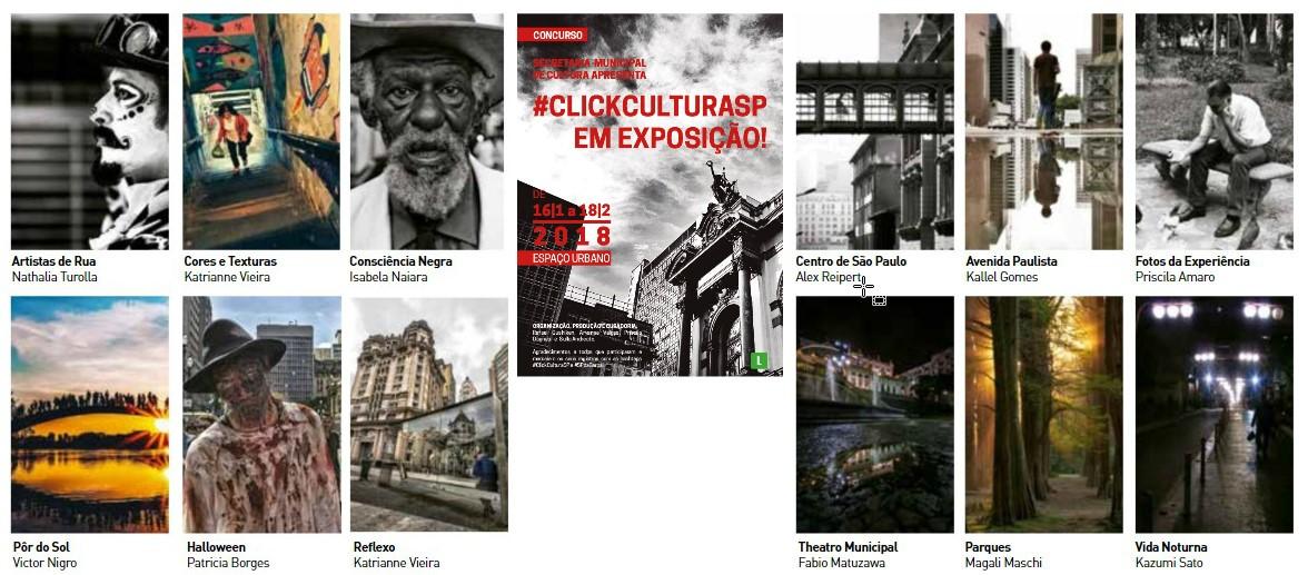 São Paulo da garoa e Secretaria Municipal de Cultura realizam #ClickCulturaSP em Exposição! para celebrar os 464 anos de SP