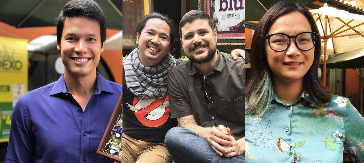 SP da garoa e ex-participantes do Masterchef Brasil no Festival Sodexo 2018