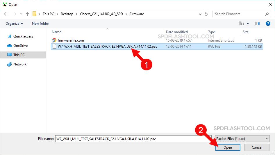 SPD Upgrade Tool Select Pac