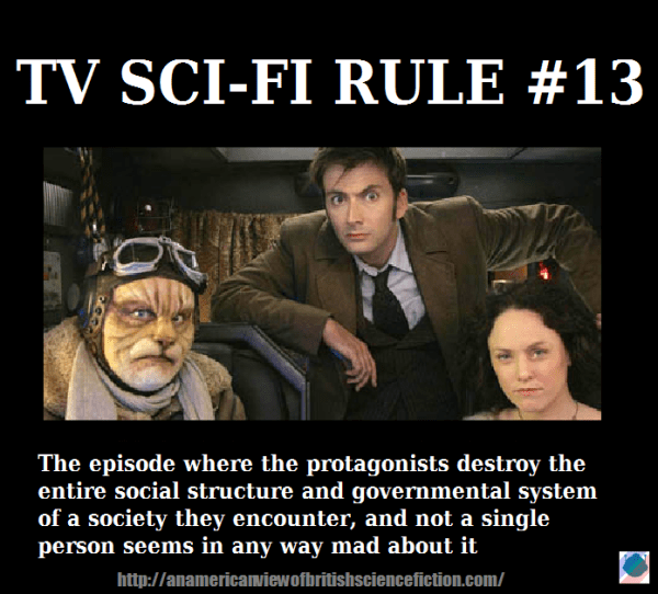 the monday meme An American View of British Science Fiction