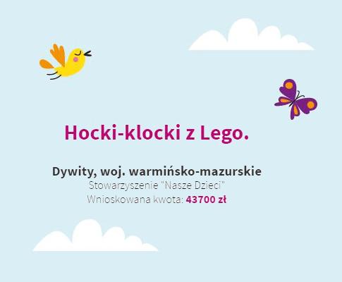 Hocki-klocki z Lego