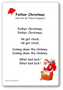 Chanson De Noel Anglais : chanson, anglais, Father, Christmas,, Comptine, Anglais, Fêter, Noël, Traduction, Français