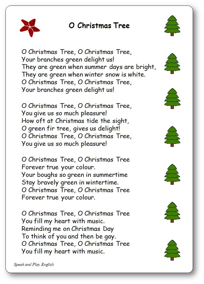Chansons traditionnelles de Noël en anglais, traduites en français